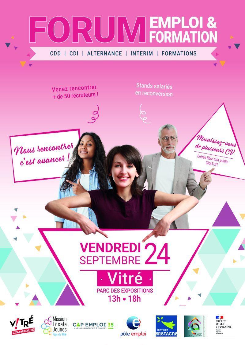 Forum Emploi & Formation Vitré (35)