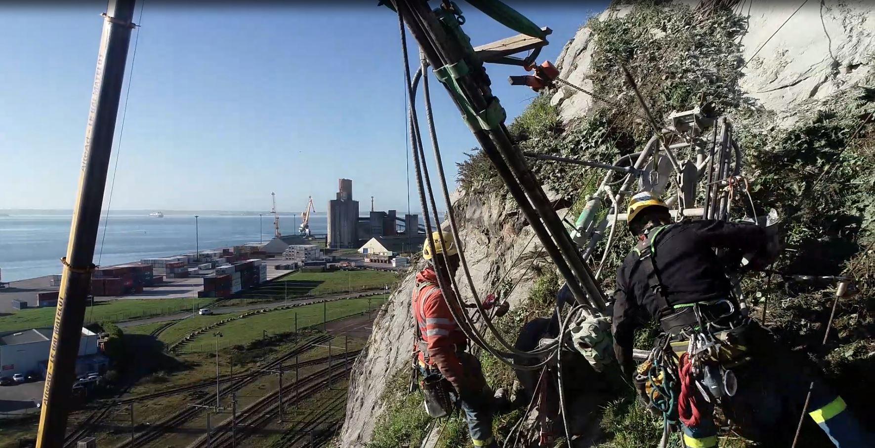 Travaux spéciaux au port de Brest